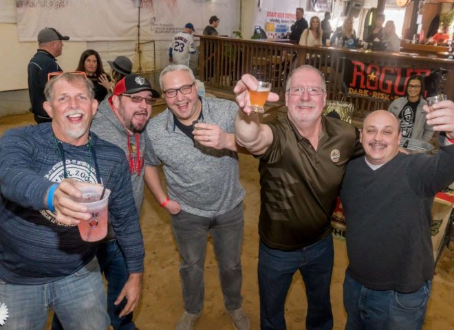 January 2018: Cheers! From Craft Brew Fest at Jesse Oaks