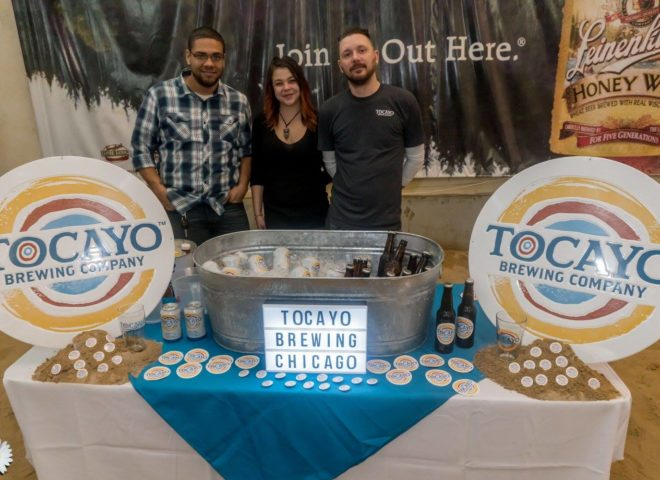 January 2018: Tocayo Brewing Company at Craft Brew Fest at Jesse Oaks