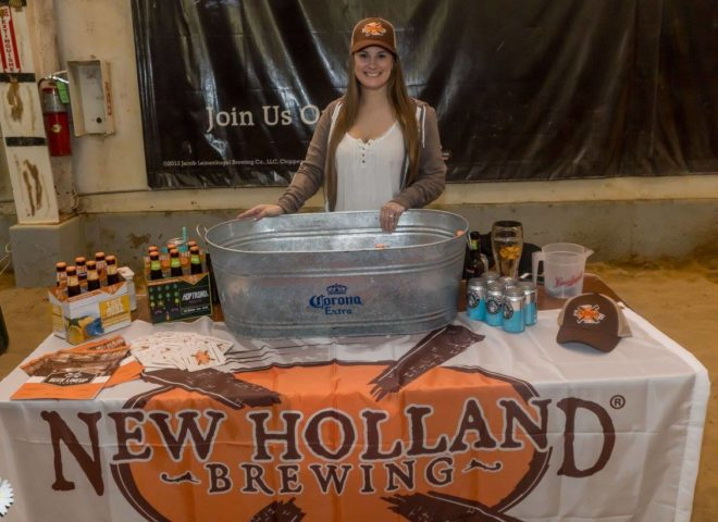 January 2018: New Holland Brewing at Craft Brew Fest at Jesse Oaks