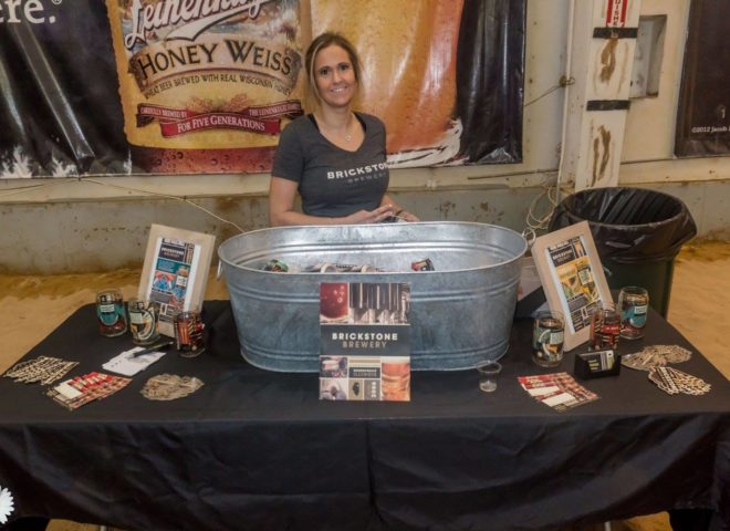 January 2018: Brickstone Brewery joined us at Craft Brew Fest at Jesse Oaks
