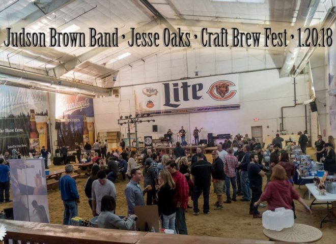 January 20, 2018: Craft Brew Fest at Jesse Oaks