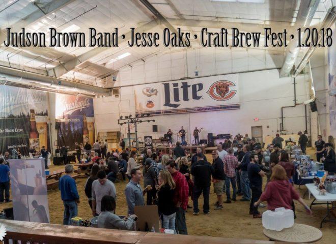 January 20, 2018: Craft Brew Fest at Jesse Oaks