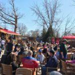 April 2018 | Jesse Oaks Beer Garden during Brecken Miles