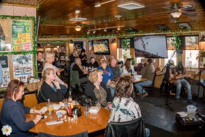 March 2018: Judson Brown Trio perform for patrons in the Main Bar at Jesse Oaks