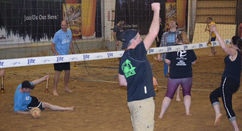 April 2016 - Beverage in Hand Volleyball Tournament