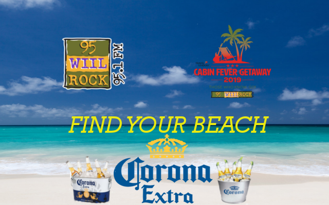 FIND-YOUR-BEACH with Corona, 95.1 WIIL Rock, and Jesse Oaks