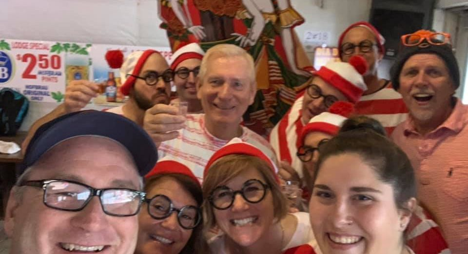 Team We're Waldo - Beverage in hand tournament - November 2018