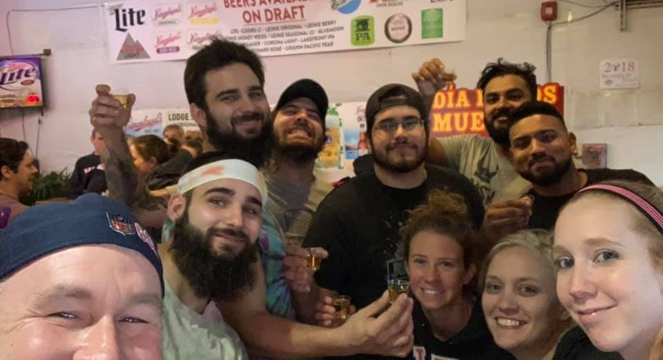 Team Drunk AF - Beverage in hand tournament - November 2018