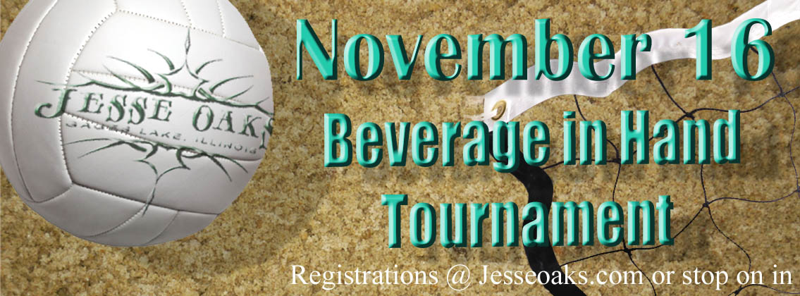 11/16/2019 - Beverage In Hand Volleyball at Jesse Oaks