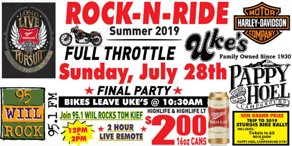 Rock-N-Ride at Jesse Oaks - Sunday July 28 at 10:30 am