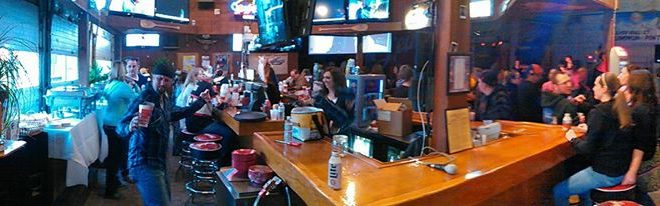 Panoramic Shot of Leinie Lodge during Big Game Sunday