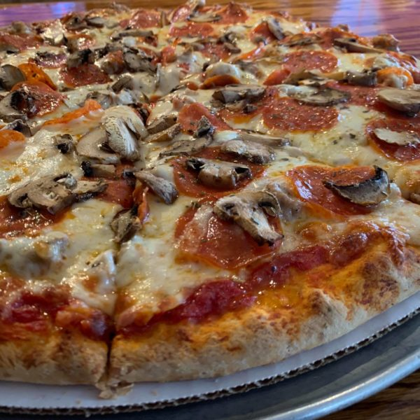"Have you tried our thick crust pizza?? 16"" pizza for $8.99 + $1.50 toppings all April. It's Loomis's new favorite!"