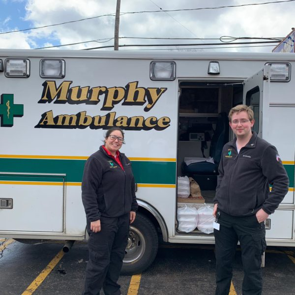Dave and the staff of Murphy Ambulance, thank you so much for your large order!! We appreciate not only your support, but for everything you do for all of us everyday! We hope you all know how incredibly important you and your team are