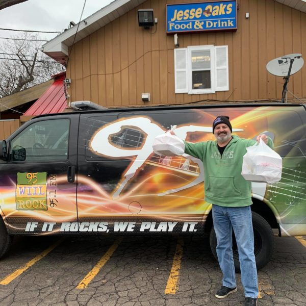 A big thank you to, Tom Kief and Kim for your continued support to Jesse Oaks and our team!! Today was Tom and 95 WIIL Rock's last broadcast in the Kenosha station. Officially they're now out of Gurnee Mills. Welcome to IL 95 WIIL ROCK !!