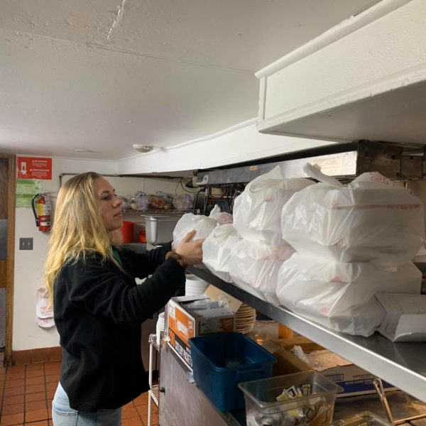 Katelynn prepping 18 orders for Andy Haley and team at GIS Cornerstone Agency!! Thank you so much for your support to Jesse Oaks and our team!!